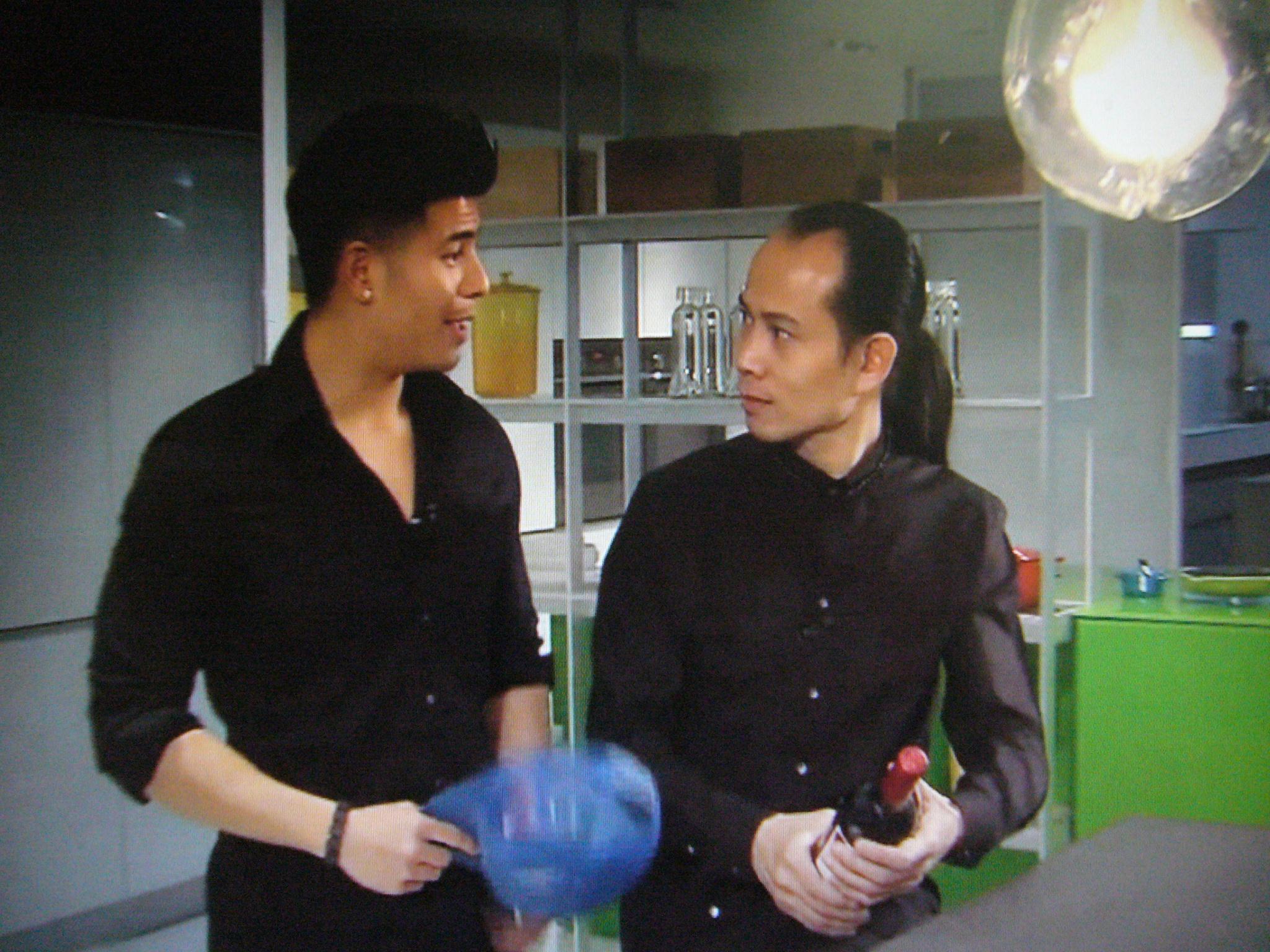 香港無線電視訪問